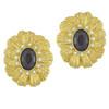 Vintage Gold Pearl Flower Necklace Set