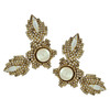 Erickson Beamon Ballerina Gold Earrings