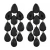 Siman Tu Black Onyx Drop Earrings