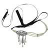 Ben-Amun Art Deco Drop Headpiece and Choker Necklace