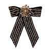 Jennifer Behr Beatrice Ornate Velvet Bow Barrette