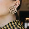 Jennifer Behr Infinity Crystal Earrings