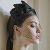Jennifer Behr Jalaina Bow Voilette Headband