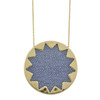 House of Harlow 1960 Blue Sunburst Necklace