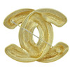 Vintage Chanel Jumbo Quilted Brooch