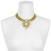Ciner Pearl Flower Collar Necklace