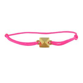 LeiVanKash Parsa Bracelet Neon Pink