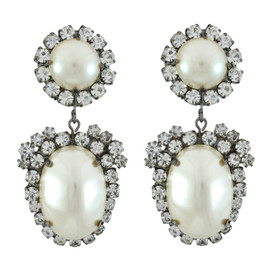 Kenneth Jay Lane Pearl Drop Earrings