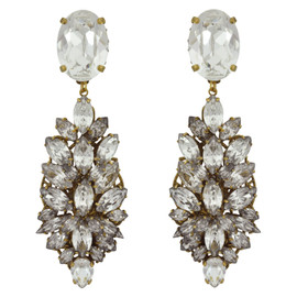 Erickson Beamon Crystal Cosmic Code Earrings