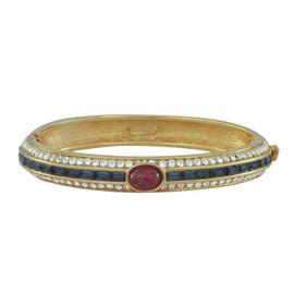 Ciner Ruby Cabochon Sapphire Bracelet