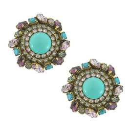 Erickson Beamon Turquoise Earrings