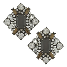 Erickson Beamon Crystal Fade Earrings