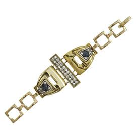 Lulu Frost Gold Solar Bracelet