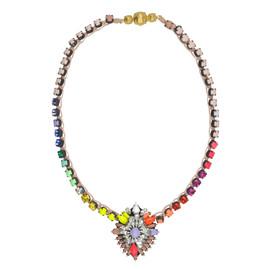 Shourouk Rainbow Cora Bamako Necklace