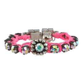 Shourouk Baraka Flower Pink Bracelet