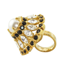 Vita Fede Principe White Pearl Ring
