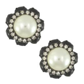 Vintage KJL Pearl Earrings
