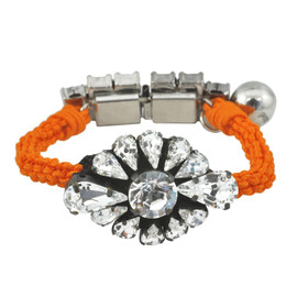 Shourouk Baraka Zoe Neon Orange Bracelet