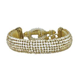 Miriam Haskell Pave Crystal Bracelet
