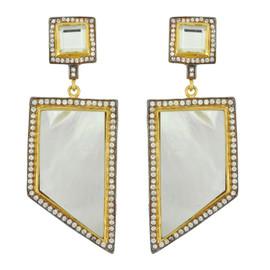 Meghna Designs Capri Mother of Pearl Earrings