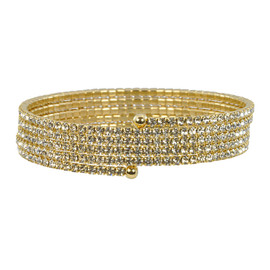 Lisa Freede Thin Gold Quintuple Wrap