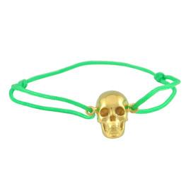 LeiVanKash Skull Bracelet Neon Green