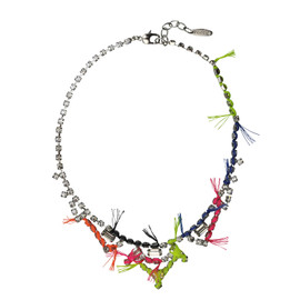 Joomi Lim Crystal Neon Necklace