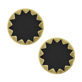 House of Harlow 1960 Starburst Button Earrings