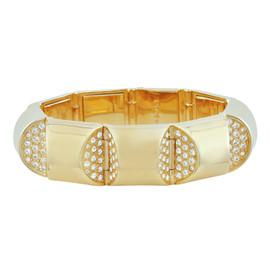 CC Skye Golden Nugget Pave Bracelet
