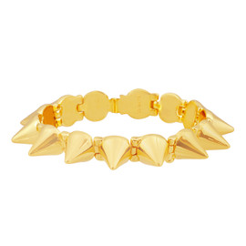 CC Skye Gold Mercy Spike Bracelet