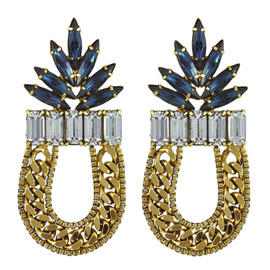Dannijo Sapphire Amara Earrings