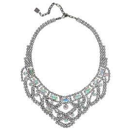 Dannijo Aurora Borealis Crystal Middleton Necklace