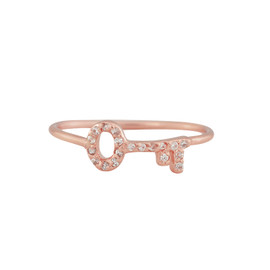 Gorjana Shimmer Key Midi Ring