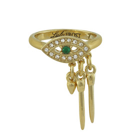 Lulu Frost Emerald Panoptes Ring