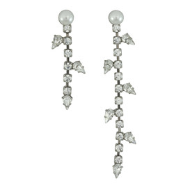Dannijo Margot Asymmetrical Earrings