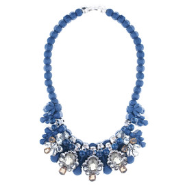EK Thongprasert Navy Royale Necklace