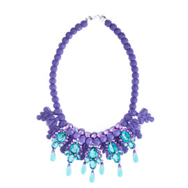 EK Thongprasert Purple De Poisson Necklace