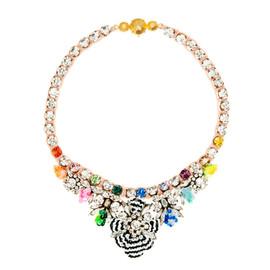 Shourouk Mini Theresa Multi Sequin Necklace