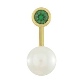 Armadoro Emerald Pearl Ear Jacket