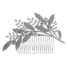 Jennifer Behr Isabella Crystal SIlver Comb