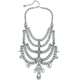 Dannijo Margaux Crystal Statement Necklace