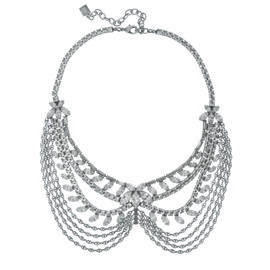 Dannijo Parton Crystal Statement Necklace