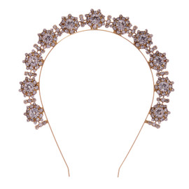 Jennifer Behr Bellosa Gold Crystal Headband