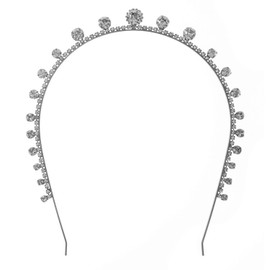 Jennifer Behr Dot Crystal Tiara Headband
