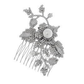 Erickson Beamon Til Death Do Us Part Crystal Hair Comb