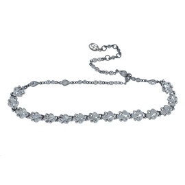 Ben-Amun Crystal Delicate Choker Necklace