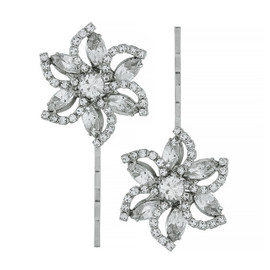 Jennifer Behr Pia Crystal Bobby Pin Set