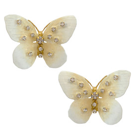 Jennifer Behr Chrysalis Butterfly Earrings