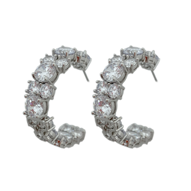 CZ by Kenneth Jay Lane Jennifer Statement Earrings