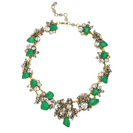Erickson Beamon Emerald Wedding Necklace